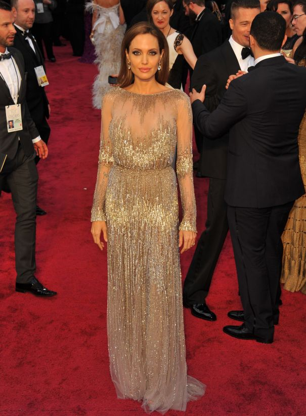 Angelina In Elie Saab Couture