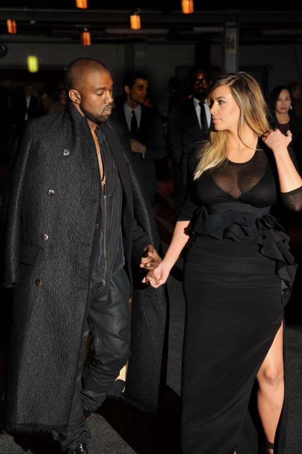 2013: Kim Kardashian And Kanye West Hit Paris