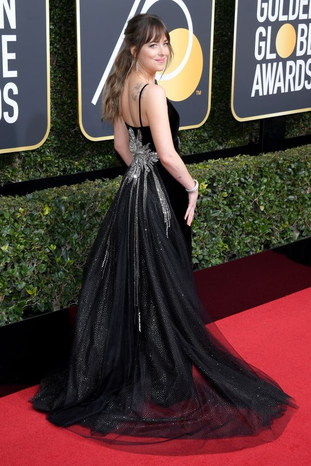 Gorgeous At The Globes