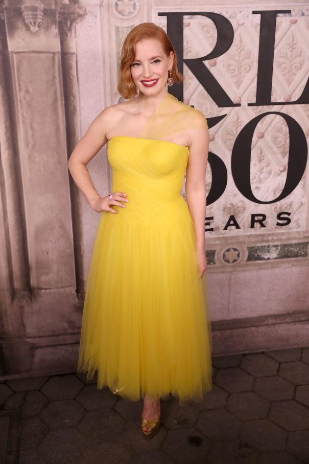 Jessica Chastain Is Runway Ready