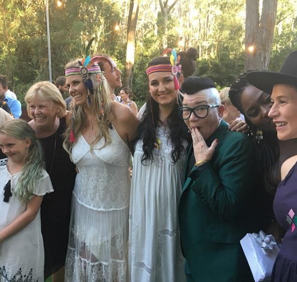 'OITNB' Stars Crash Australian Wedding