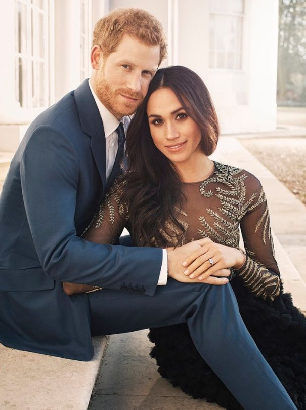 May 2018: Prince Harry And Meghan Markle