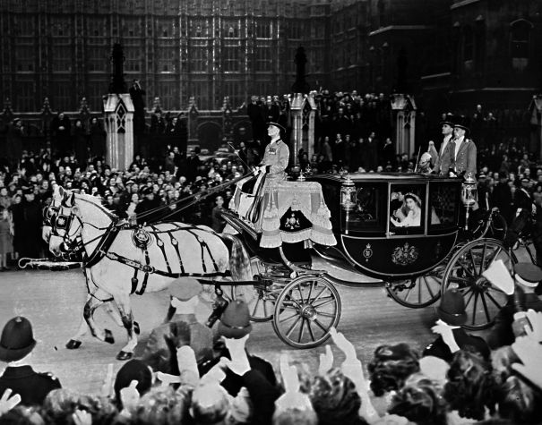 1947: Returning To Buckingham Palace As Husband And Wife
