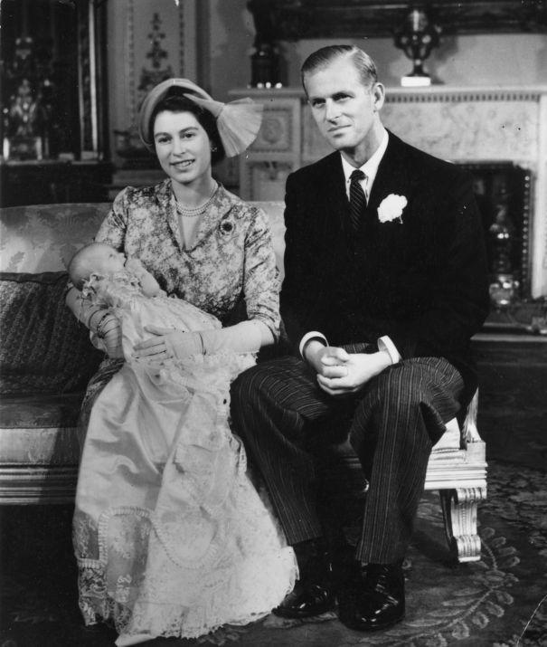 1950: Princess Anne's Christening