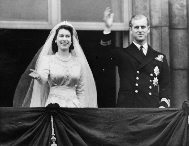 1947: Princess Elizabeth Marries Philip