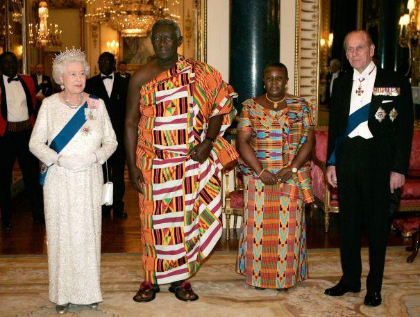 2007: The Royals Visit Ghana