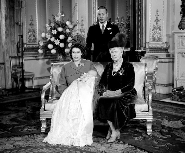 1948: Four Generations At Buckingham Palace