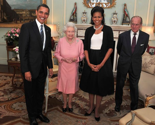 2011: Meeting With The Obamas