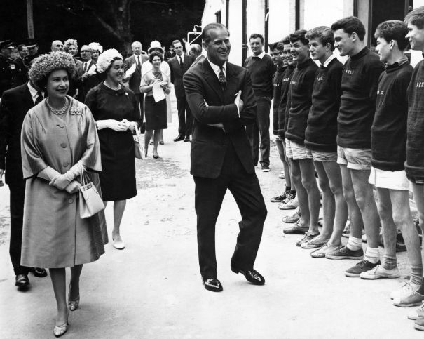 1963: The Royals Flash Some Smiles While On Duty