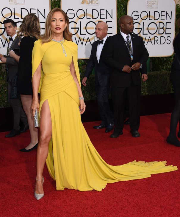 2016: Nothing Mellow About J-Lo In Yellow