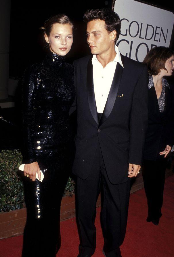1995: Kate Moss' Sequin Stunner