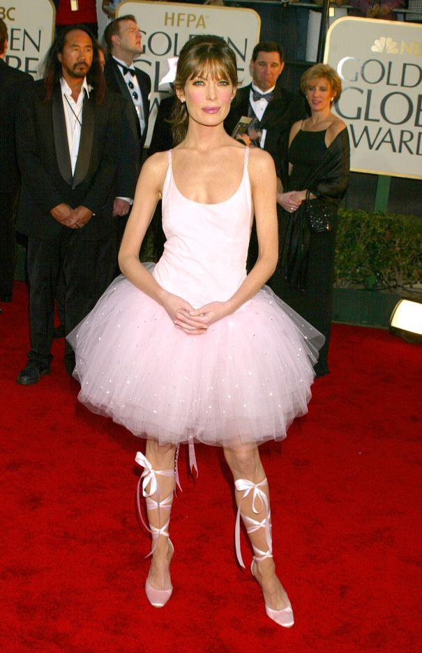2003: Lara Flynn Boyle's Ballerina Disaster