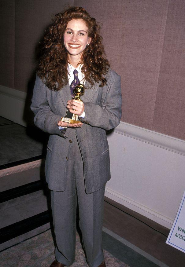 1990: Julia Roberts' Slouchy Suit