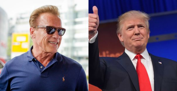 Arnold Schwarzenegger vs. Donald Trump