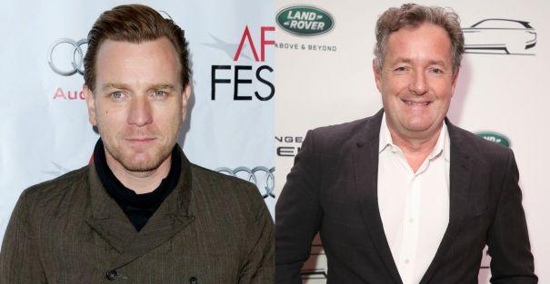 Ewan McGregor vs. Piers Morgan