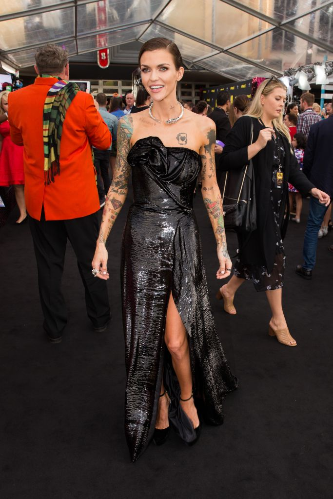 Ruby Rose at the 'Pitch Perfect 3' premiere