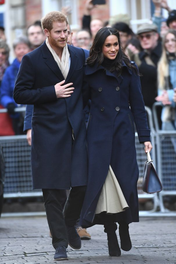 Prince Harry And Meghan Markle Visited Nottingham