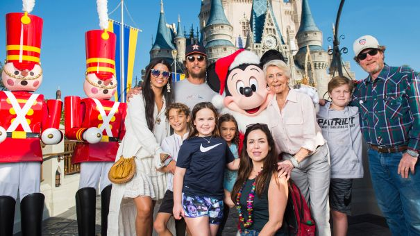 McConaughey And Fam At Disney World