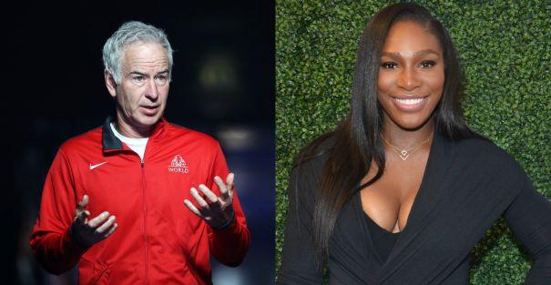 John McEnroe vs. Serena Williams