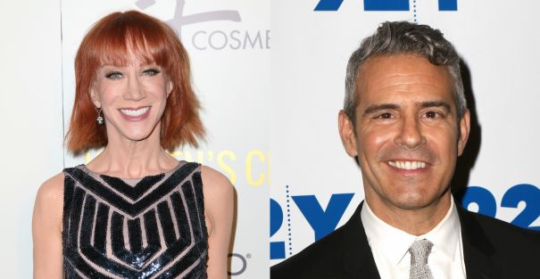 Kathy Griffin vs. Andy Cohen