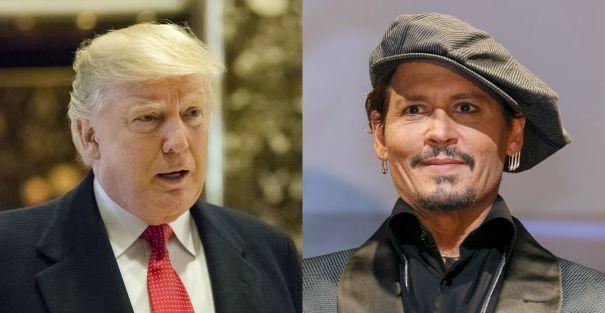 Donald Trump vs. Johnny Depp