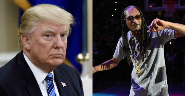 Donald Trumpvs.Snoop Dogg
