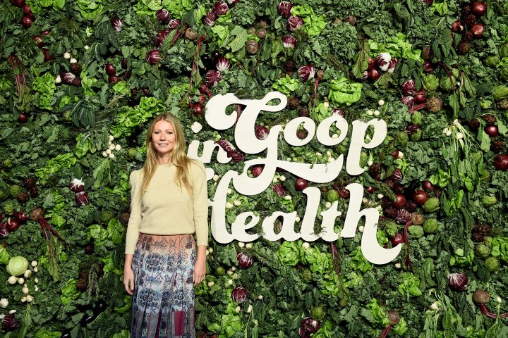 Actress and Goop owner Gwyneth Paltrow steps out for her life brand's Health Summit in New York City.
