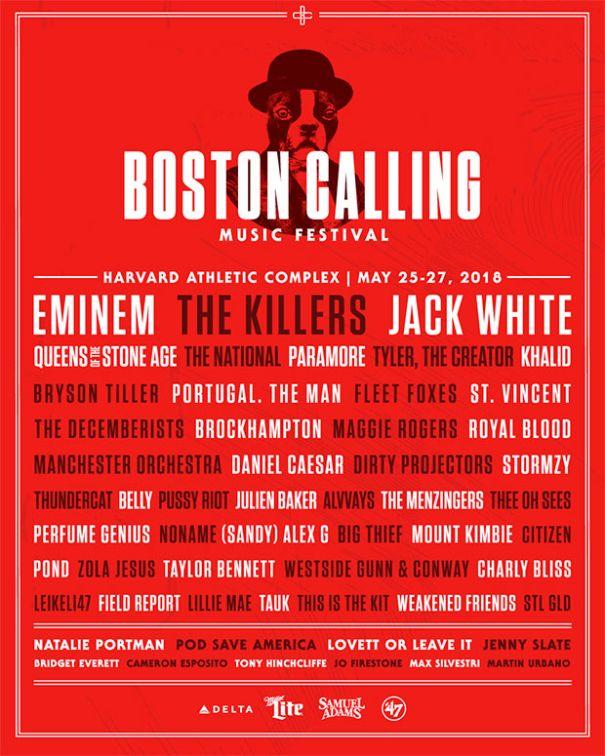 We love that Boston Calling dog.