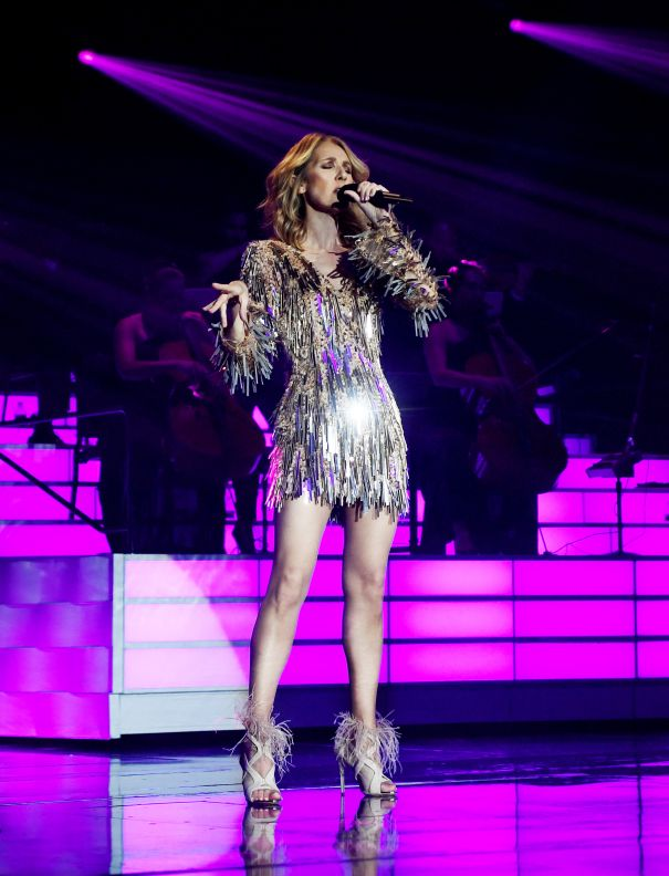 Celine Dion's New Year's Bash