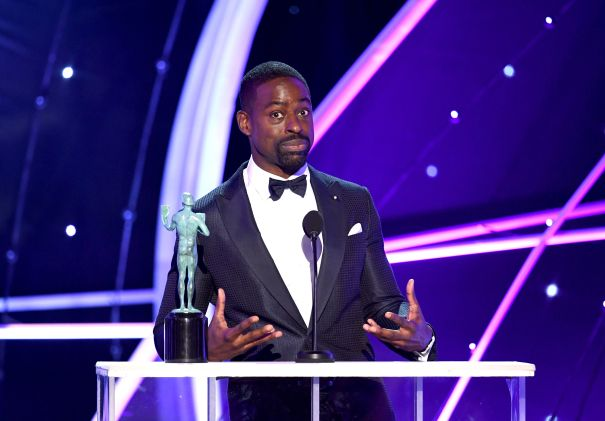 Sterling K. Brown Gets Emotional