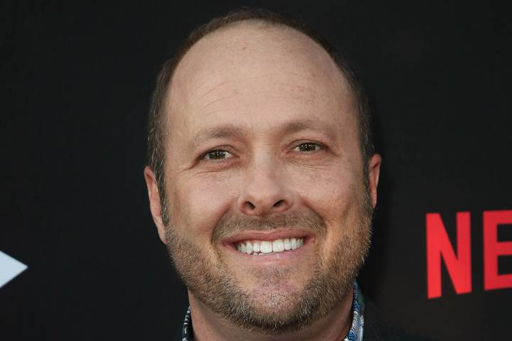 Author Jay Asher attends the premiere of Netflix's '13 Reasons Why' at Paramount Pictures on March 30, 2017 in Los Angeles, California.