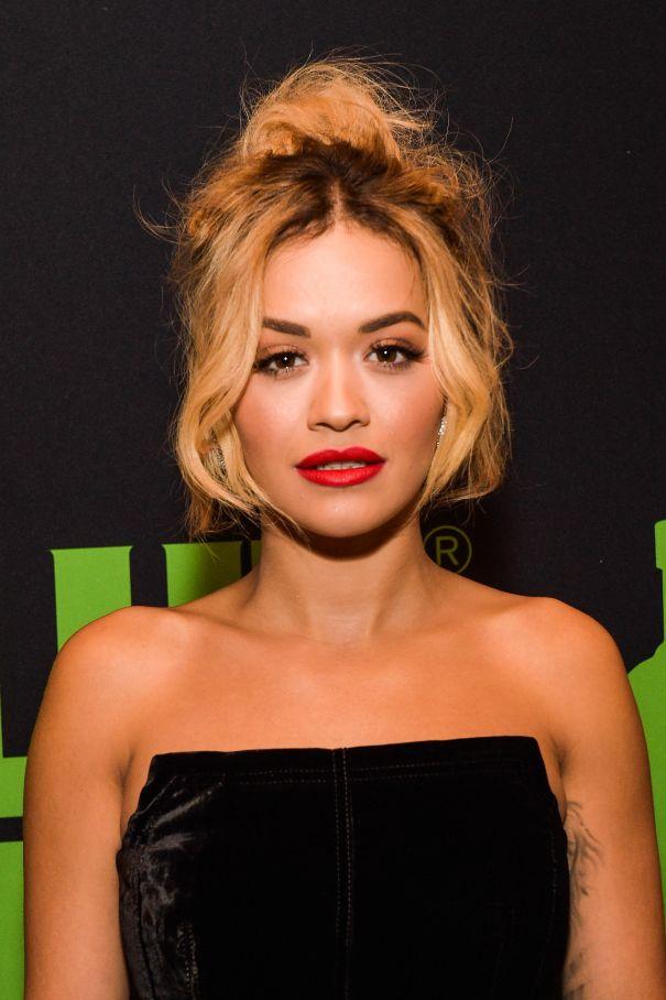 Trend: Face-Framing Locks - Rita Ora