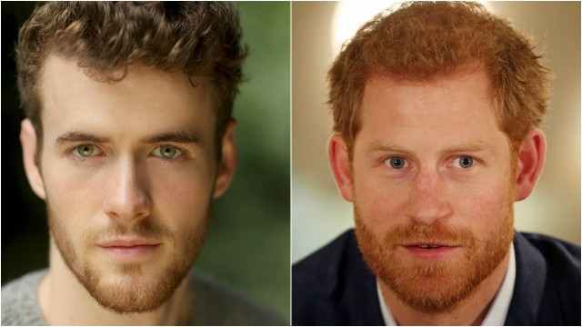Murray Fraser (left) will play Prince Harry.