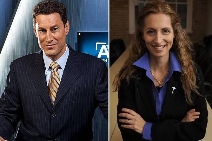 TVO host Steve Paikin, (left), faces sexual harassment allegations from former Toronto mayoral candidate Sarah Thomson, (right).