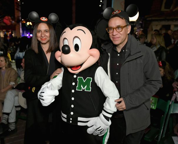 Maya Rudolph And Fred Armisen Pose With Joy