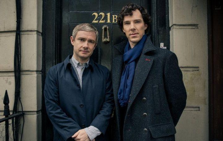Martin Freeman and Benedict Cumberbatch - BBC