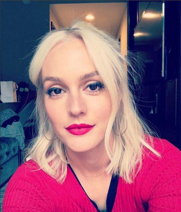Leighton Meester Goes Blonde
