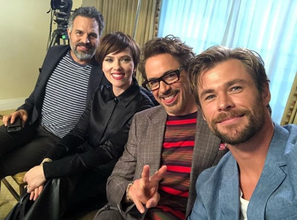 Press Tour Chats With 'The Avengers'