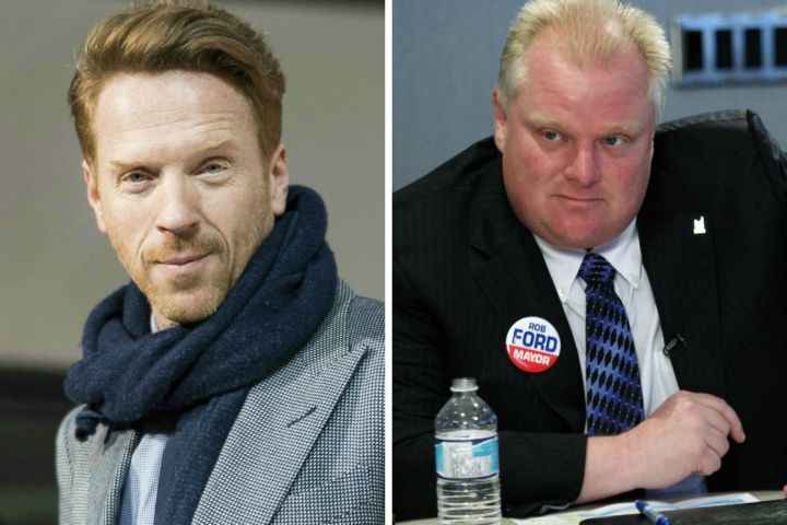 Damian Lewis is set to play Rob Ford in the upcoming movie