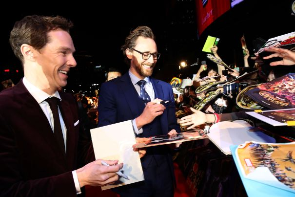 Benedict And Tom Bro Out At Fan Event