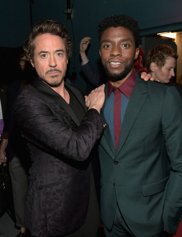 When Iron Man Met Black Panther