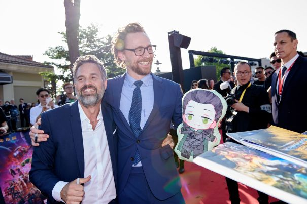 Hulk + Loki Make Up