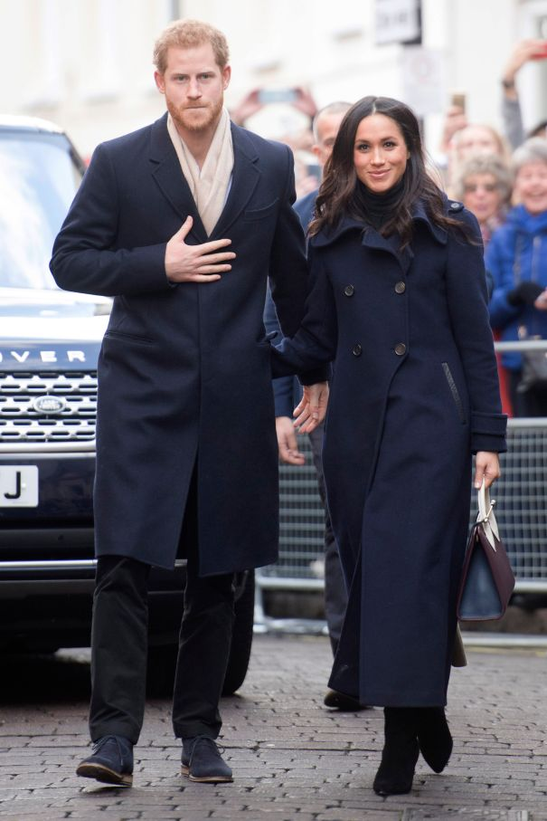 Meghan Makes It Official In Mackage