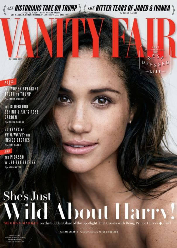 She Spoke To Vanity Fair