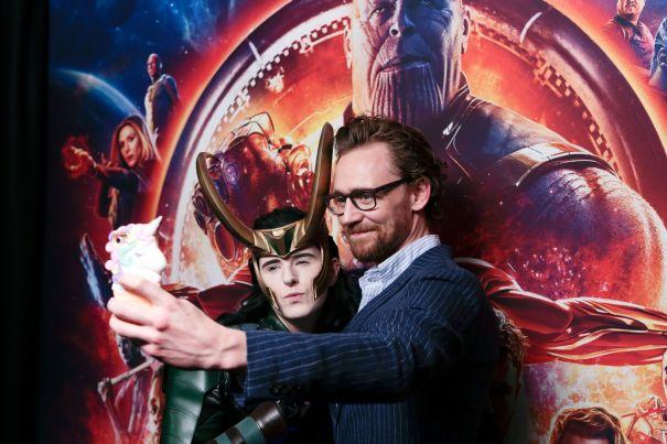 Tom Hiddleston Finds Loki