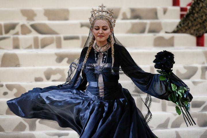 Madonna at the Met Gala 2018