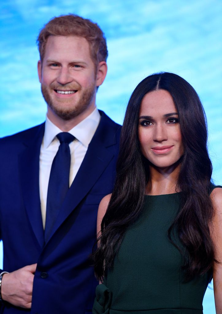 Meghan Markle's waxwork has been unveiled at London's Madame Tussauds