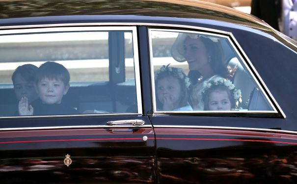 Princess Charlotte Heads To The Chapel