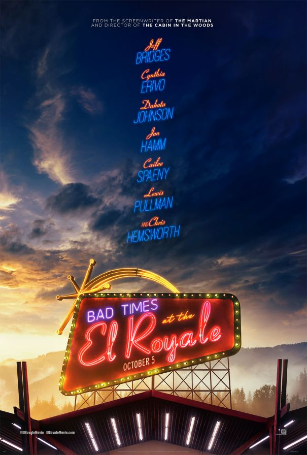 'Bad Times At The El Royale'