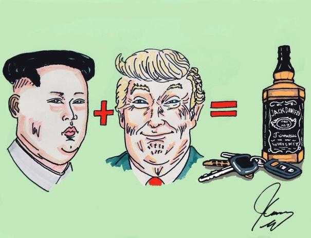 Kim + Trump = Disaster